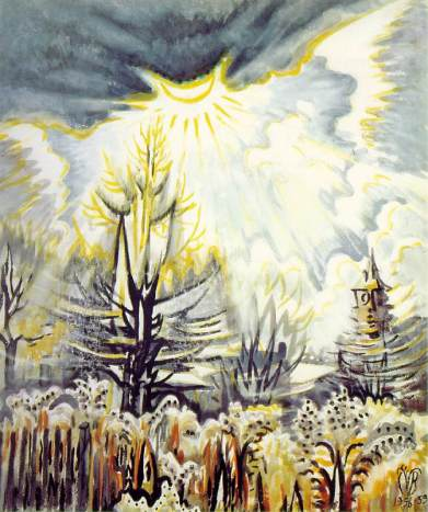 Charles Burchfield, Sole di novembre