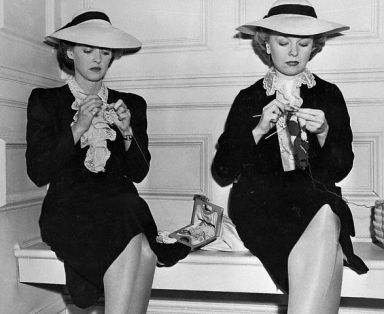 Bette Davis e Sally Sage